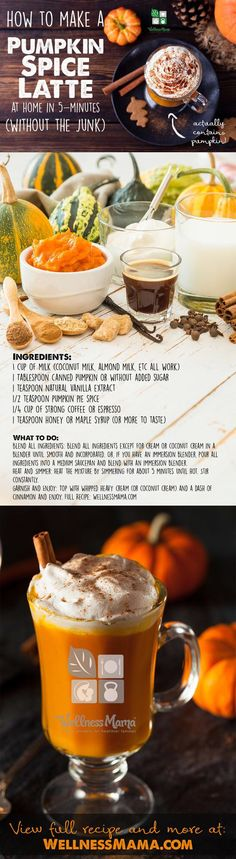 How to Make an Amazing Pumpkin Spice Latte (at Home)