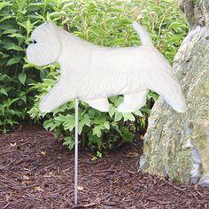 West Highland Terrier Dog Figure Garden Stake. Home Yard & Garden Products-Gifts
