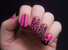 buetiful pink nails