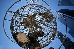 The Globe Sculpture at Columbus Circle, New York City, New York