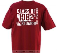 retro reunion out with the new and in with the old the retro look is hot this year and this design features funky linear text that looks like it came - Class Reunion T Shirt Design Ideas