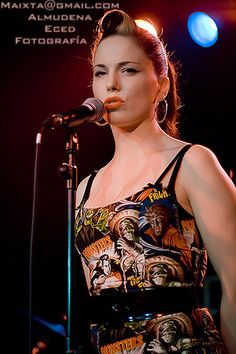 imelda may- ❤❤❤❤ her music! Check  her out!!!