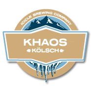 Icicle Brewing Company.Photo of Khaos Kölsch(Not available at Bavarian Lodge)
