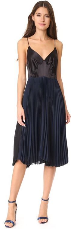 #AffiliateLink -- Loyd/Ford Sleeveless Pleated Dress -- #Chic Only #Glamour Always