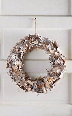 Birch Leaf Wreath #anthrofave