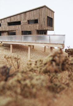 Maison bois et atelier de menuiserie by Malet Thibaut, via Behance