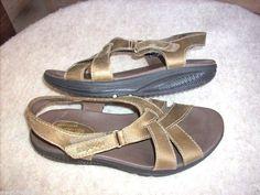 Skechers Shape Ups women sandals 8 Bronze shoes Mint #SKECHERS #PlatformsWedges #Casual