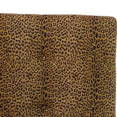 Dolce Tufted Headboard - California King - Cheetah Earth - Skyline Furniture