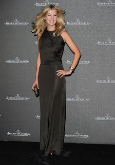 Rosamund Pike's Style Evolution  - Rosamund Pike in 2010