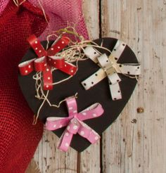 Valentine Magnet Bows