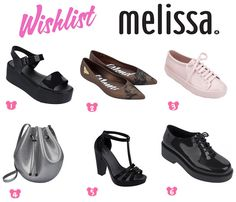 Wishlist Melissas - Loja Portinhola