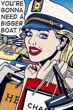 Retro Pop, Retro Color, Arte Pop, Classic Movie Quotes, Collages, Vintage Pop Art, Pop Art Girl, Pop Art Illustration, Vintage Comics
