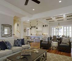 neutral living room  - Wayne Windham Architect