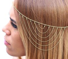 Bridesmaid accessories Hair jewelry Head accessory by streetcats, $38.00
