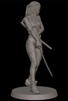 ArtStation - Michonne, Will Harbottle