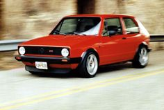 The exact GTI I had. No power windows. No power steering.  But it drove like a dream. It always wanted you to drive it a little bit harder.   I miss that car.