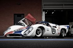Lola p70 race car - perhaps the most beautiful Lola of all...