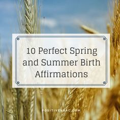 All my favourite birth affirmations from The Wise Hippo Birthing Programme…