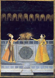 Festivities in the Mughal court