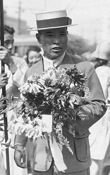 TIL at the 1912 Olympics a marathon runner quit and went home to Japan without telling officials and was considered a missing person in Sweden for 50 years. In 1966 he was invited to complete the marathon. His time: 54 years 8 months 6 days 5 hours 32 minutes and 20.379 seconds.