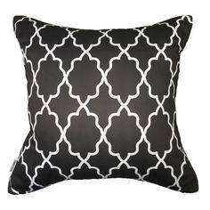 Moroccan Graphite Pillow #pillows #throwpillow #interiors #homedecor #cushions #mialiving