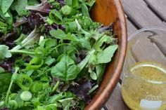 Crisp Winter Greens with Tarragon Vinaigrette | Relish Cooking Studio