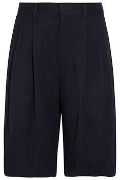 Rag & bone|Sally oversized satin-twill shorts|NET-A-PORTER.COM