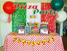 """Pizza / Birthday """"Classic Pizza Party"""" 