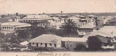 Mombasa View 1905 Mombasa, North Coast, Nairobi, East Africa, Black Power, Historical Photos, Kenya, 1930s, Paris Skyline