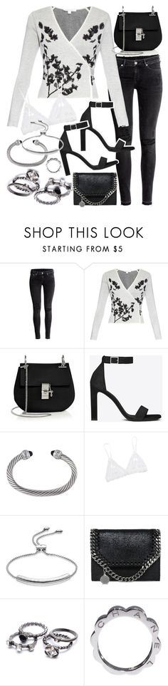 """Untitled #19645"" by florencia95 ❤ liked on Polyvore featuring H&M, Diane Von Furstenberg, Chloé, Yves Saint Laurent, David Yurman, Hanky Panky, Monica Vinader, STELLA McCARTNEY and Chanel"
