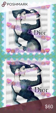 "🖤💃🏽""Dior Timeless Fashion""Dior Design Art💃🏽🖤 🖤💃🏽"" Dior Timeless Fashion "" Dior Design Timeless Fashion Woman Painted Art Work Print💃🏽🖤 Wall Art Paint Print🐾💜 Dior artwork 💖 Christian Dior Fashion Art Work  💟😃Art created by me!😍Purchase & receive a HIGH QUALITY 8"" X 11 {Letter} SIZE~art print of my original creation!☺️  💋Print unframed~Frame=$10❤️  💄Perfect for wall decor, bedrooms, bathrooms, closets,next to your vanity,table tops,even to spruce up your office at…"