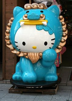 Shisa Hello Kitty.