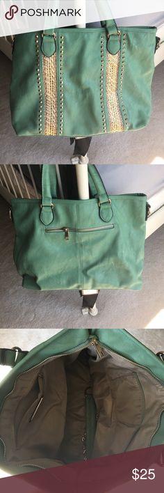 Mint Green Miztique Handbag/Shoulder Bag Gently used. No wear and tear. Miztique Bags Shoulder Bags