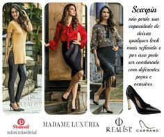 Como usar scarpin com diferentes estilos de look? A Madame Luxúria te dá a dica!  #sou #ootd #love #soumadame #fiquelinda #moda #fashion #cute #style #makeup #beauty #look #photo #lookdodia #descomplica #pinterest #pinterestinspired #scarpin #carrano #carranooficial #dicasdamadame #ficaadica