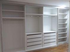 Master Closet, Closet Bedroom, Closet Space, Home Bedroom, Bedroom Decor, Wardrobe Design Bedroom, Girl Bedroom Designs, Dressing Room Design, Ikea Storage