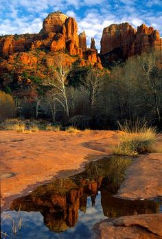 Sedona Reflection; photo by Frank Serafini
