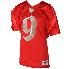 "Tech N9ne - Red Football Jersey 2012  (Back) ""Tech N9ne"" with Snake & Bat"