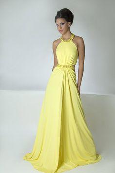 Robes d'été 2012 - Jaunes Robes 2012 | Mode et Beauté