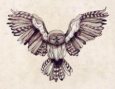 Sara Blake design, owl