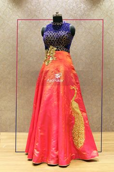 Lovely sh ade of pink Indian Gowns, Indian Attire, Indian Ethnic Wear, Ethnic Outfits, Indian Outfits, Designer Gowns, Indian Designer Wear, Anarkali Dress, Lehenga