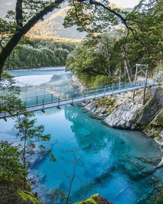 Blue Pools Haast Pass New Zealand I will do 01 hours basic excel/Spreadsheet data entry copy/paste work. Nz South Island, New Zealand South Island, Blue Lake New Zealand, Places To Travel, Places To See, Travel Destinations, Travel Tips, New Zealand Holidays, Lake Wanaka