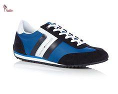 Tommy Hilfiger - Sneakersy Branson 8C1 - FM0FM00612403 - Couleur: Bleu-Bleu marine - Pointure: 40.0 - Chaussures tommy hilfiger (*Partner-Link)