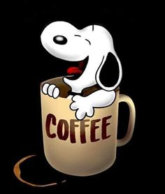 Snoopy, what are you doing? - Snoopy, what are you doing? Peanuts Gang, Peanuts Cartoon, Images Snoopy, Snoopy Pictures, Hug Pictures, Hilarious Pictures, I Love Coffee, Coffee Art, Coffee Cups