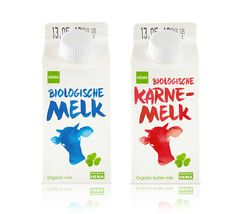 HEMA Private Label in NEtherlands by Sogood Design - #milk #packaging