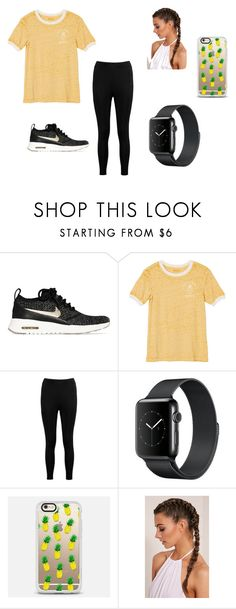 """PINEAPPLES!!! 🍍🍍"" by mad-fred ❤ liked on Polyvore featuring NIKE, RVCA, Boohoo, Casetify, sunnyday, dayout, pineapple, pineapples and ppap"
