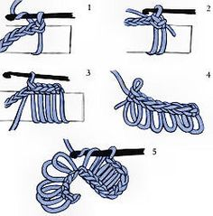 Fancy Crochet Stitches ~ tutorials for the more complicated crochet stitches