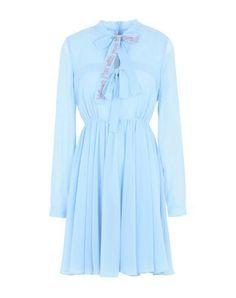 BROGNANO Women's Short dress Sky blue 6 US