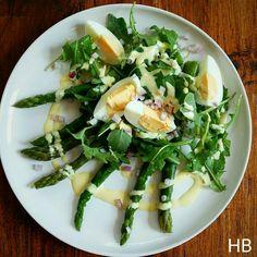 Groene asperges met ei uit 5 ingrediënten van Jamie Oliver