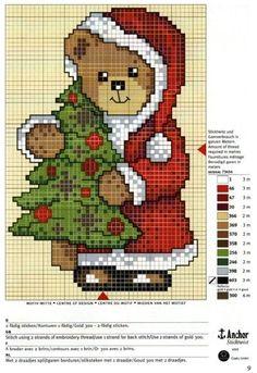 Lindos Gráficos de Ponto Cruz para o Natal - IPUBLIQUEI