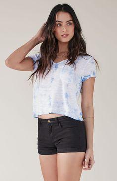 Me To We Summertime Knit Pocket T-Shirt $24.95 Buy 1 Get 1 50% Off